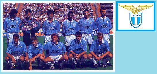 Lazio start 11 i 92/93