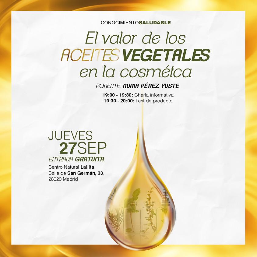 El valor de los aceites vegetales en cosmética