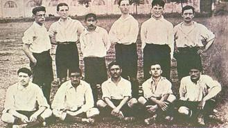 1901-1903. Opdagelsen af fodbold