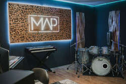 colegio map, estudio de grabación