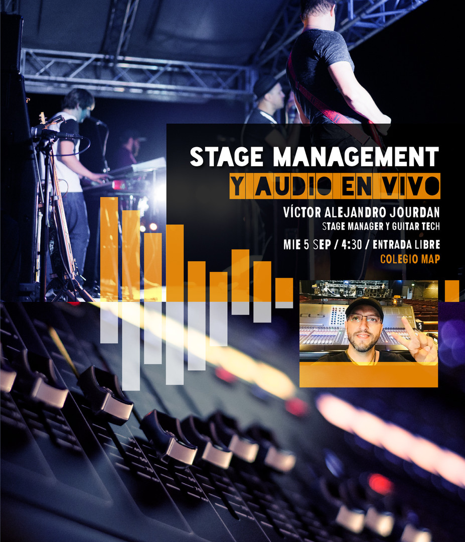 Stage Management y Audio en vivo