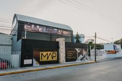 map colegio de música, audio y producción, fachada