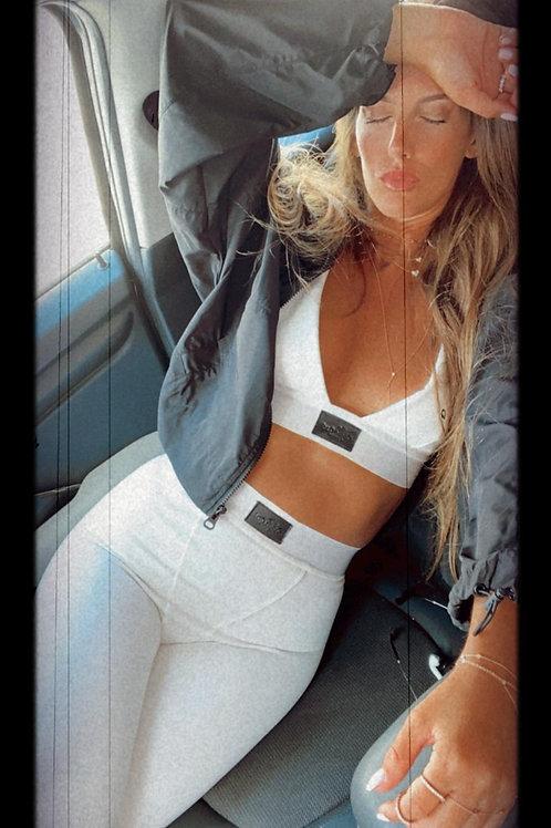 Odel white long מכנס