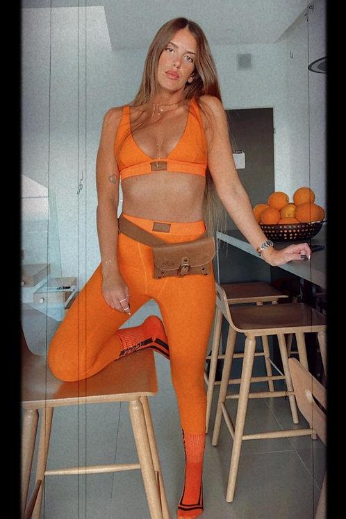 Odel Orange long מכנס