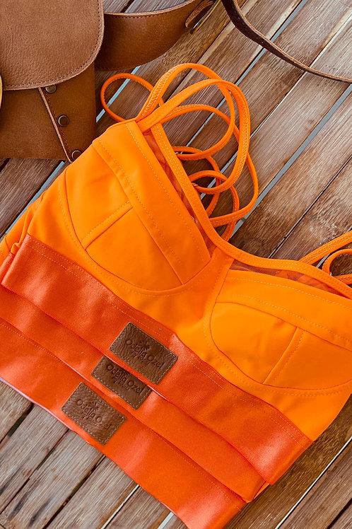 Milan Orange טופ