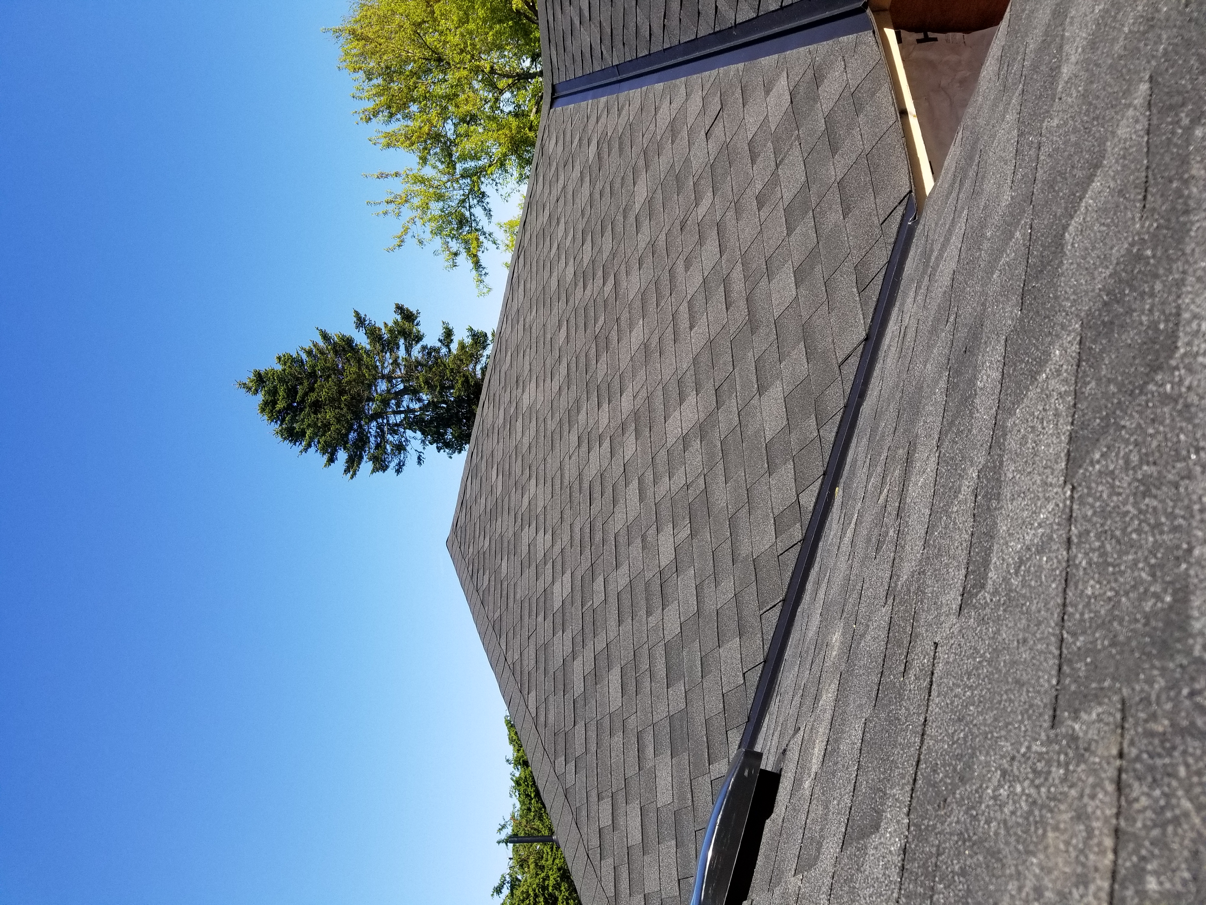 New replacement roof