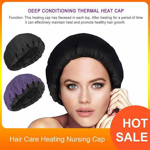 Deep Conditioning Thermal Heat Cap  for Home Treatment SPA Hair
