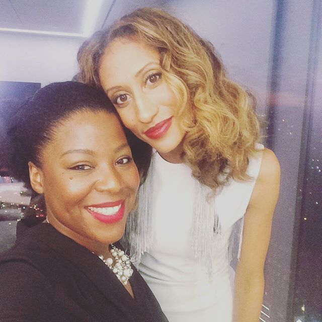 #FB _elainewelteroth and I _ready for #aliciakeys _keepachildalive #blackball 2016 _We tried somethi