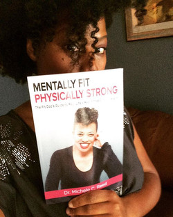 I was gifted this book Mentally Fit Physically Strong from #StayTunedWithStacey guest _fitdocmichele
