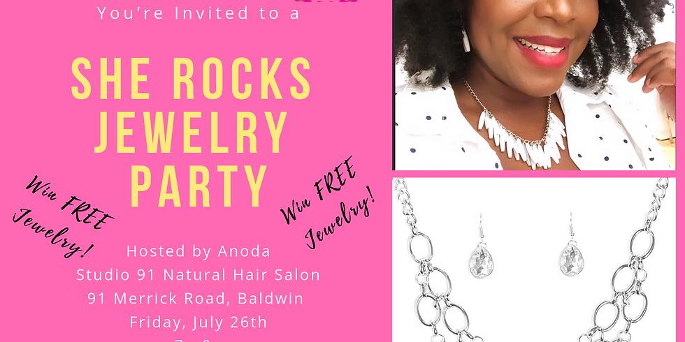 SHE ROCKS Jewelry Party