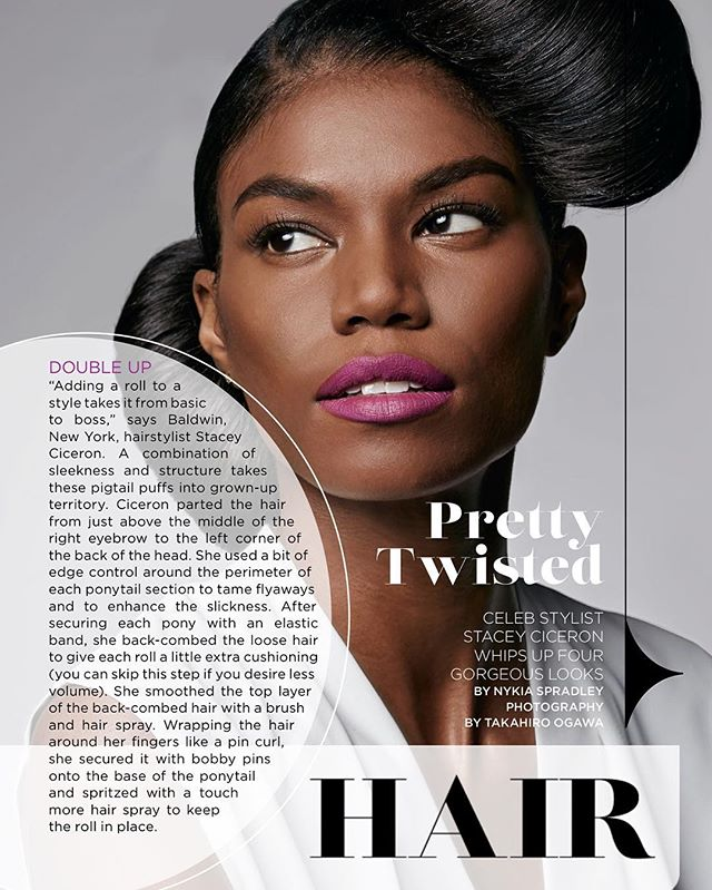 NEW WERK!!!_#HAIR opener for _essence magazine April issue_#PRETTYTWISTED Take any style from basic