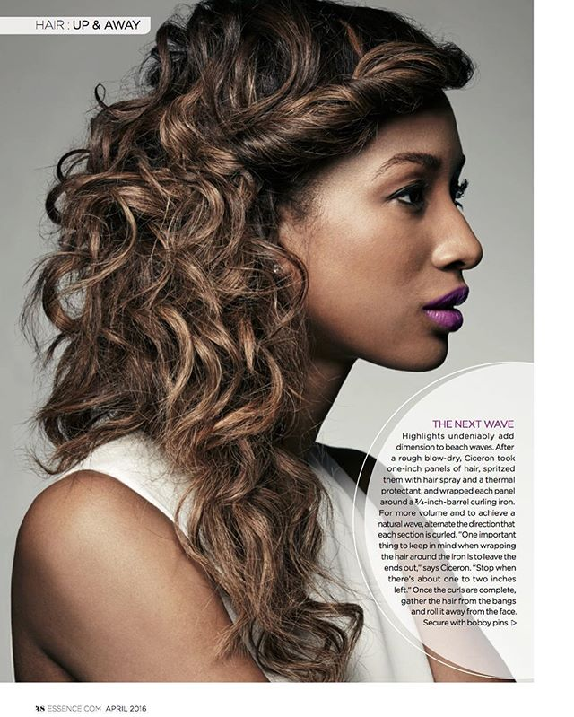 NEW WERK! _#TheNextWave__essence magazine April issue_#hairbystaceyciceron _kbainc #thestaceyciceron
