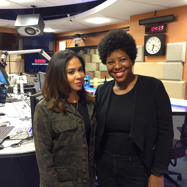 Instagram - I can now add radio to my repertoire! Had a wonderful time styling @angelayee of the @po