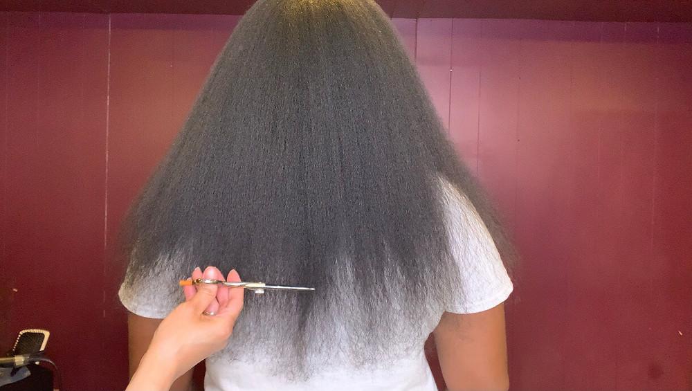I Got 5+ Inches Cut Off My Waist Length Natural Hair