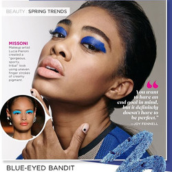 _Springs Trends_ #runway inspired looks in the #beauty section of the March issue of _essencemag on