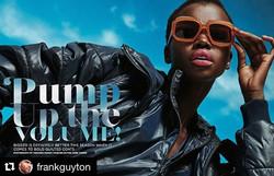 NEW WERK!🔥 #Repost _frankguyton_・・・_New Essence Magazine October Fashion Story...#teamessence 🔥😎_