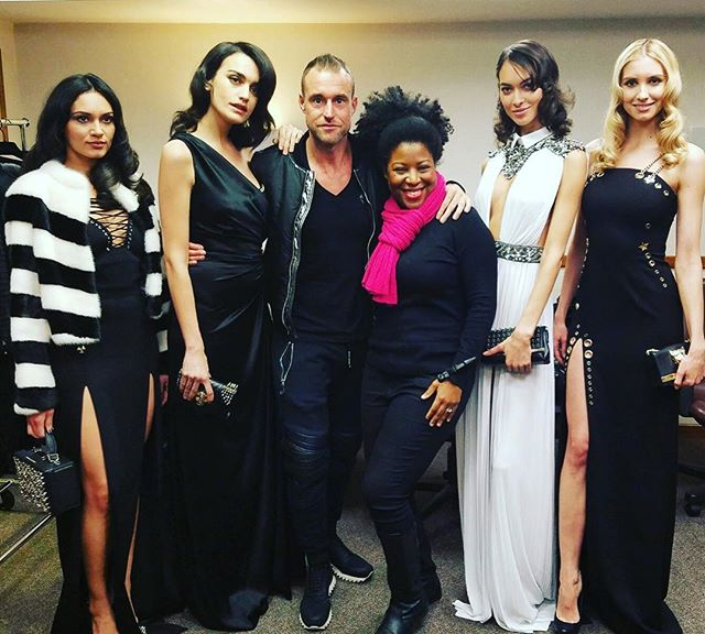 Me with #fashion #designer _philippplein78 _philipppleininternational and these #beautiful #models s