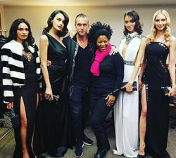 Me with #fashion #designer _philippplein78 _philipppleininternational and these #beautiful #models s