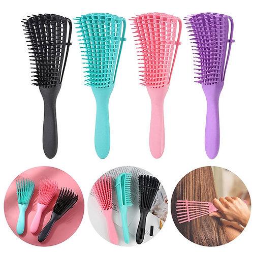 Women Detangle Hairbrush -  Reduce Fatigue for Salon Hairdressing Styling