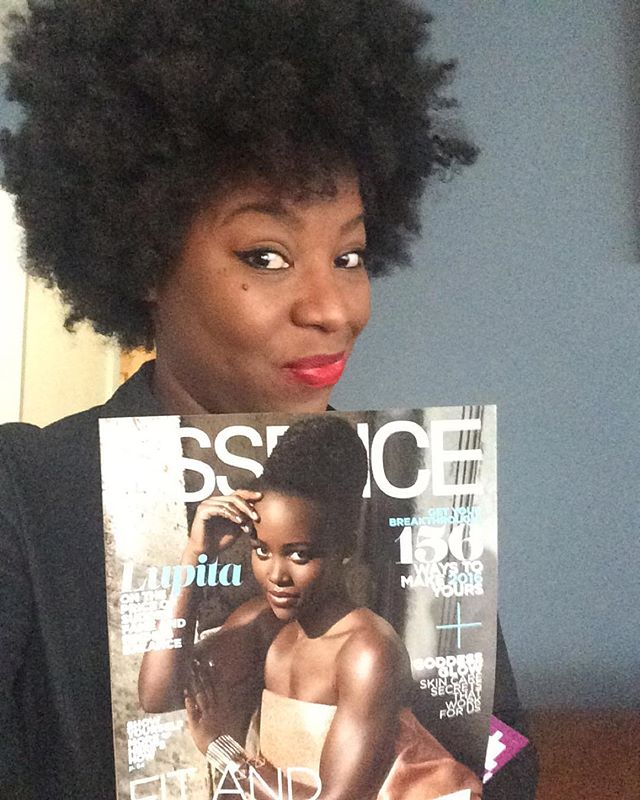 Guess who has an 8 PAGE #fashionstory in the new January_2016 issue of_essencemag 🎉💃🏾💃🏾💃🏾🎉 M