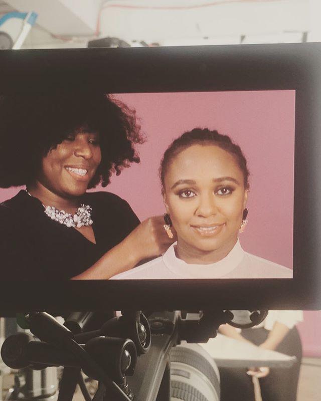 #bts _refinery29 #texturedhair #hairtutorial video #hair #staceyciceron #texturedhairprofessionals #