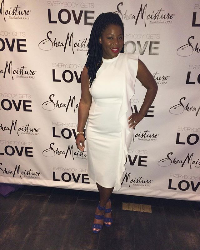 _sheamoisture Protective style collection product launch in Las Vegas💙💙💙#sheamoisture #protective