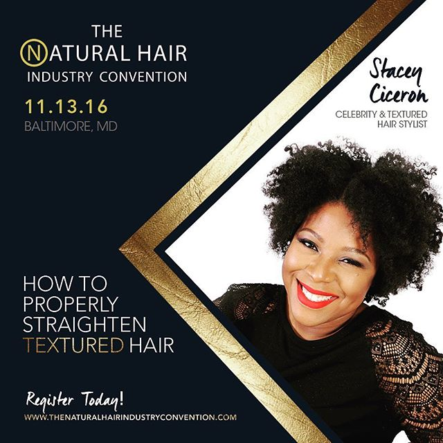Hey guys!!👋🏾👋🏾👋🏾_Come see me _naturalhairindustry convention in #Maryland this weekend! I can'