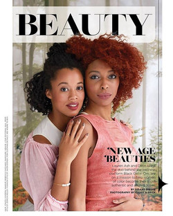 NEW WERK!💫💫 Beauty Story April issue _essence magazine__#Repost _rebeccacasciano (_get_repost)_・・・