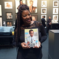 Never too busy to pick up the latest issue of _essencemag !!_Especially when your WERK is being feat