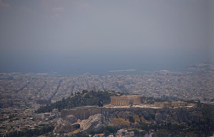Athens from Likavitos