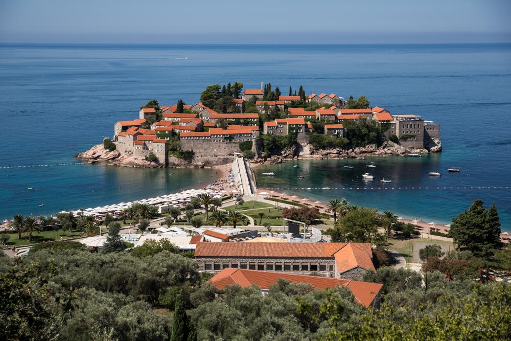 Montenegro, St. Stefan