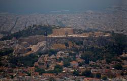 Athens, Acropolis from Likavitos