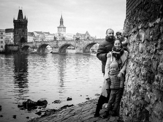 Cold photosession with Charles Bridge / zmrzlé focení u Karlova mostu