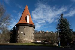 Tower at Cesky Krumlov