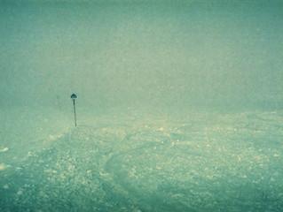 Skiing photographer / Fotograf na lyžích