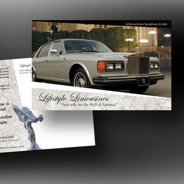 Lifestyle Limousine Direct Mail