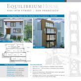 Equilibrium House Sign