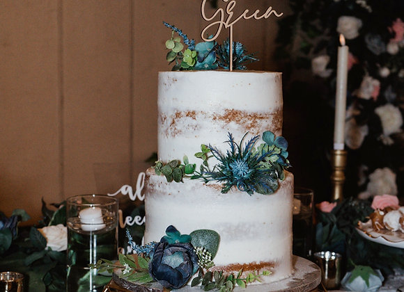 Customized Cake Topper