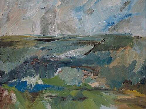 """Horizon"" Oil Painting"