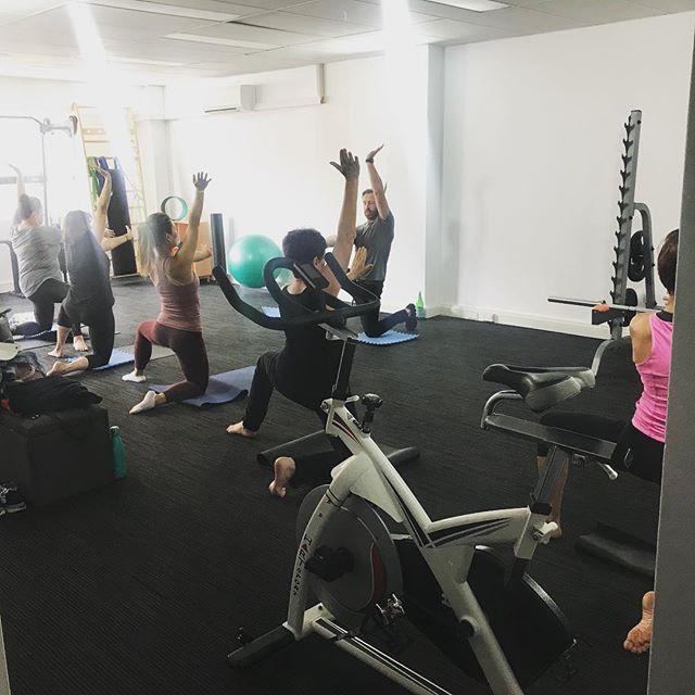 Fascia and eldoa stretch class with _cam