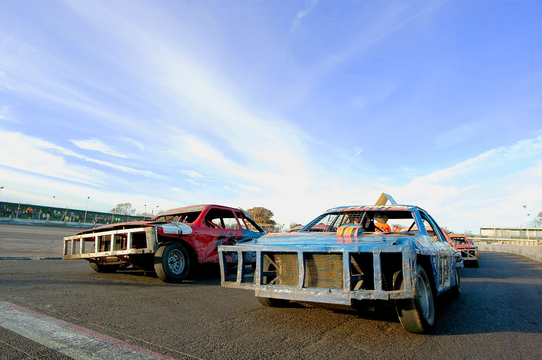 Stockcar racing experience, driving experience