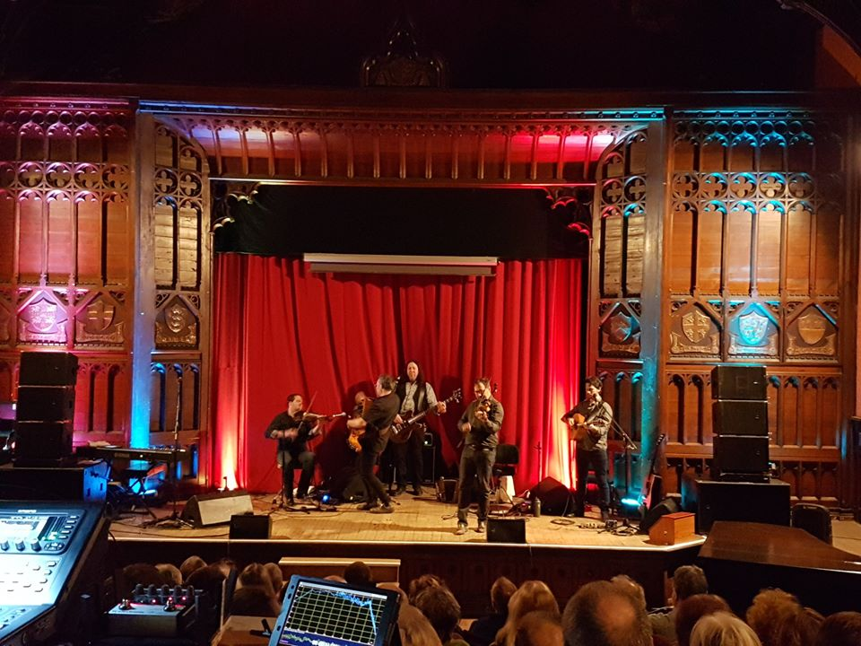 Folk Music in Ushaw Theatre