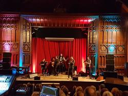 Folk Music in Ushaw Theatre