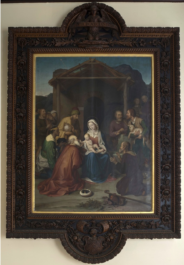 Adoration of the Magi and Shepherds (1851)