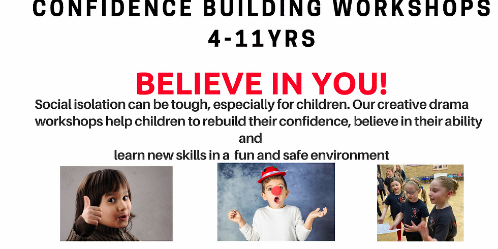 Confidence Giving Workshops with Activate Theatre