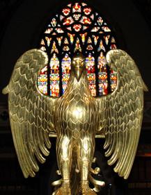 Pugin Eagle Lectern