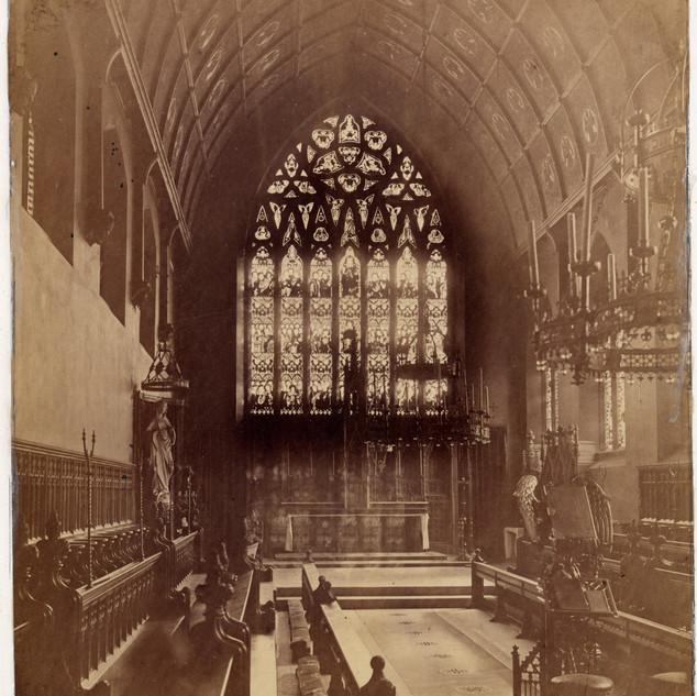 Photo of the original Chapel