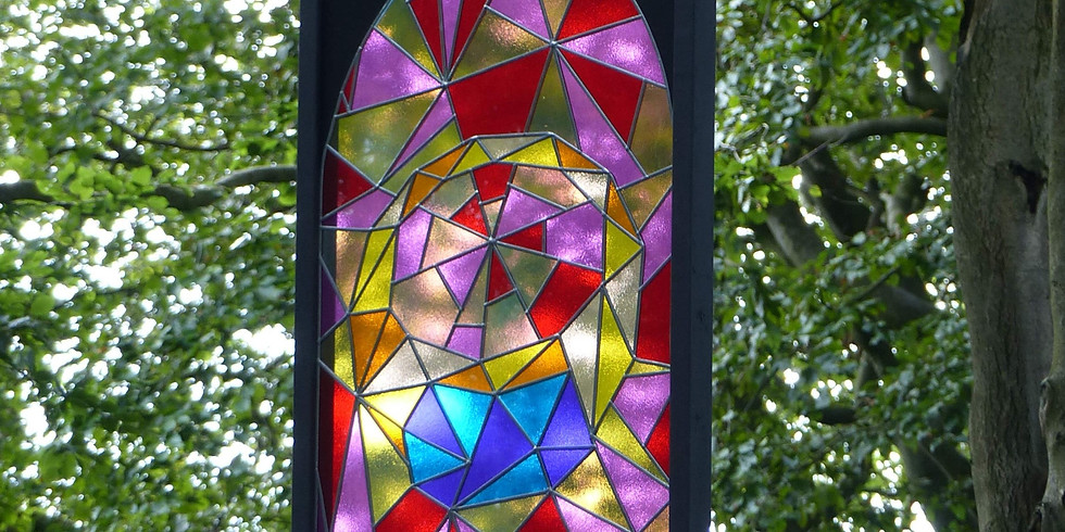 Paper stained-glass window workshop   11am and 2pm