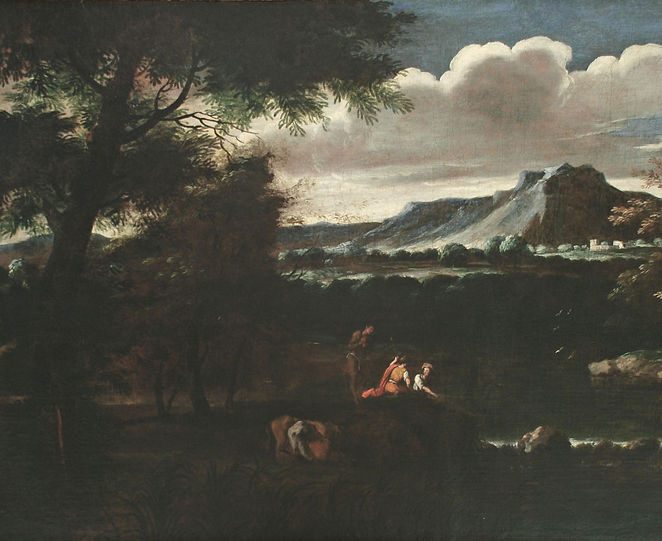 Domenichino - Extensive Landscaoe with F
