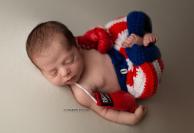 Newborn Session at Endless Smiles Photography in Haddonfield New Jersey